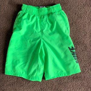 Boys Swim Trunks, Nike, Size Small